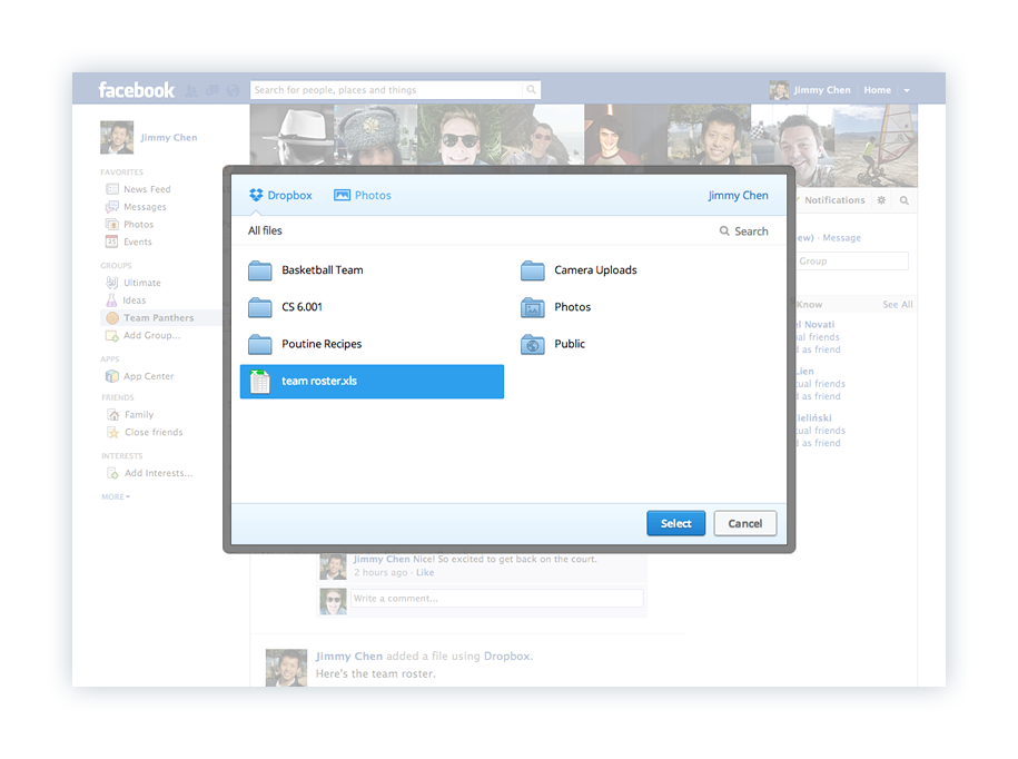 dropbox-facebook-sharing